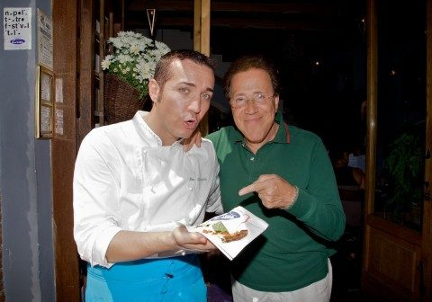 Giacomo Rizzo e la Pizza al Corbarino di Gino Sorbillo