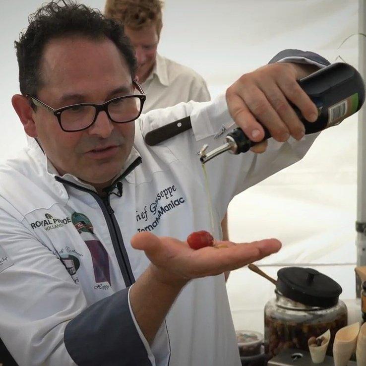 Giuseppe Migliaccio. Lo chef tomato maniac