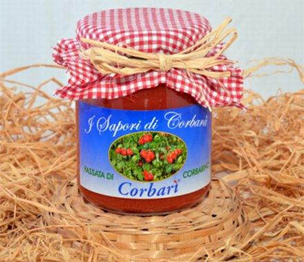 I Sapori di Corbara. Pomodorini corbarini Corbarì. Passata di Corbarino