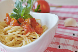 Spaghetti ai Pomodorini di Corbara